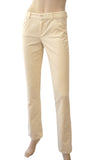 RALPH LAUREN COLLECTION Black Label Ivory Cotton Corduroy Straight Jeans Pants 2