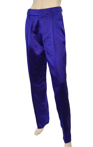 GUCCI Tom Ford Silk Charmeuse Pants, IT 40 / US 4