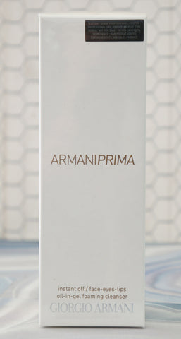 GIORGIO ARMANI Prima Oil-in Gel Foaming Cleanser