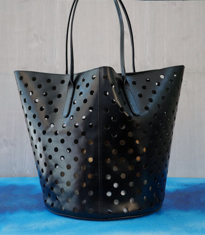 RACHEL COMEY Kenya Leather Punched Tote