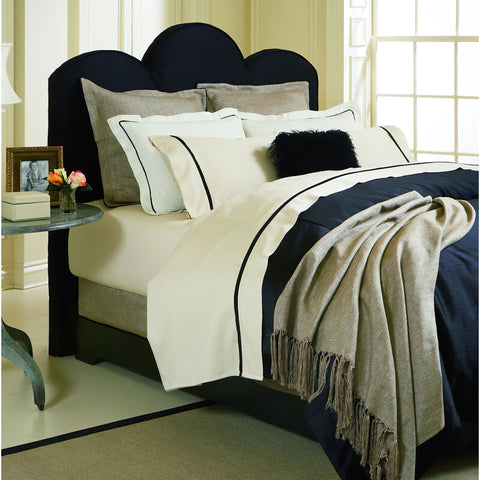 THE WELL DRESSED BED Gatsby 6-Piece Queen Duvet Bedding Set