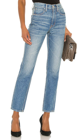 SLVRLAKE Virginia Slim High Rise Straight Leg Jeans in Sweet Thing 27 BRAND NEW
