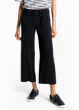 A.L.C. Heri Black Crepe Belted Wide-leg Pants Ankle-Length 8 NEW WITH TAGS
