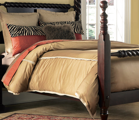 THE WELL DRESSED BED Multicolor Jonathan Bedding Collection in Queen, King