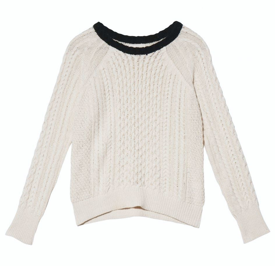 Band of Outsiders Long Sleeve Knit Sweater Online Store Free Shipping Visa Payment Buy Cheap Fashion Style Buy Cheap Shop For Manchester Great Sale Sale Online XOKI2w