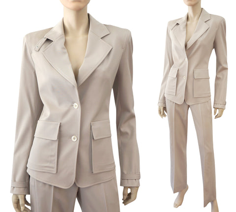 YVES SAINT LAURENT Stretch-Wool Blazer, FR 38 / US 6