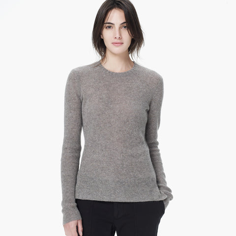 JAMES PERSE Cashmere Crew Neck Sweater w/ Tags, Sz 1/S