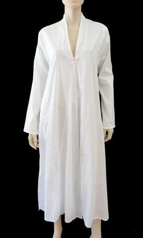 JASMIN NOIR Cotton Beach Robe/Cover-Up, M