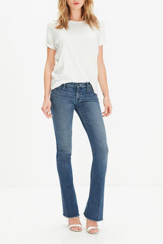 MOTHER The Runaway Fray Jeans w/ Tags, Sz 24