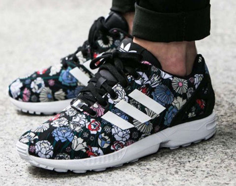 ADDIDAS TORSION 6 Sneakers ZX Floral Flux Black