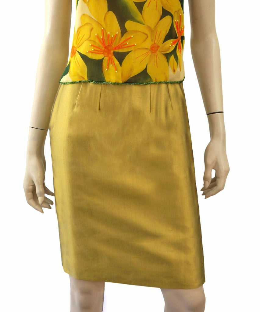 RICHARD TYLER Pencil Skirt, US 2