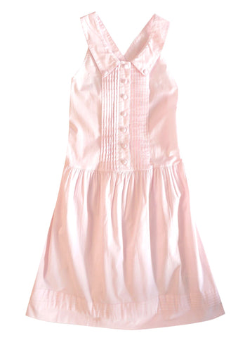 LILI GAUFRETTE Girls Cotton Pinafore Dress w/ Tags, 12A