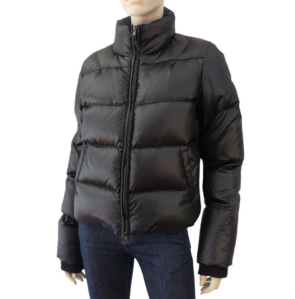 C'N'C COSTUME NATIONAL Beaded Puffer Jacket, IT 46 / US 10