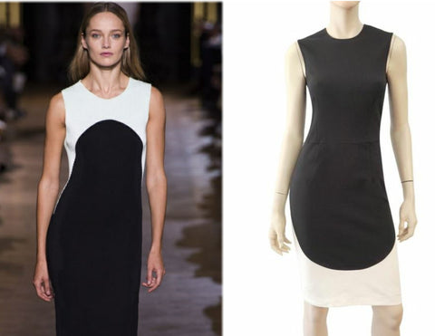 STELLA MCCARTNEY Slvlss Illusion Dress, IT 40 / US 4