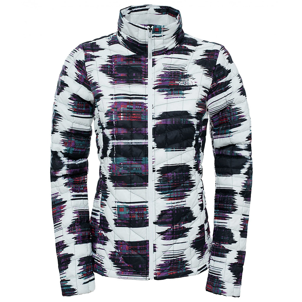 THE NORTH FACE Thermoball Insulated Jacket Black Carbonite Print L
