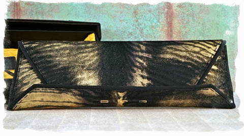 VBH Manila Meter Calf Hair Clutch w/ Tags