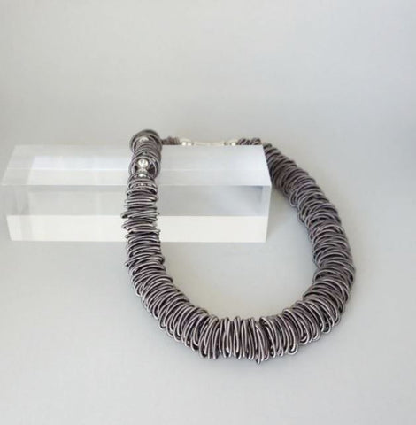 WHISPER of NAPLES Piano Wire Necklace