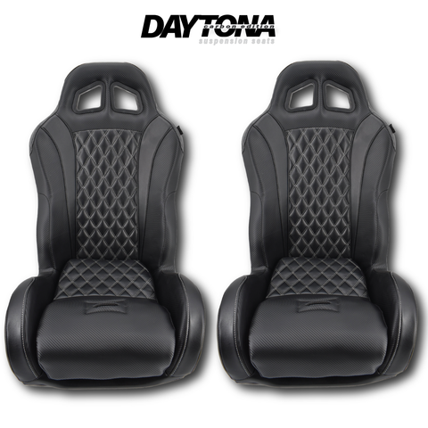 (Black) Carbon Edition Daytona Seats