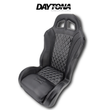 (Black) Carbon Edition Daytona Seats (With Harnesses)