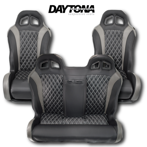 Carbon Edition Daytona Seats and Bench Seat (Bundle)