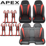 Apex Bench Seat Bundle (with Harnesses)