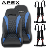 Apex Suspension Seats (Harness Bundle)