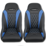 (Blue) Apex Suspension Seats (Harness Bundle)