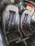 (Black) Apex Suspension Seats