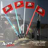 Deluxe Lighted Whips (Single Colors)