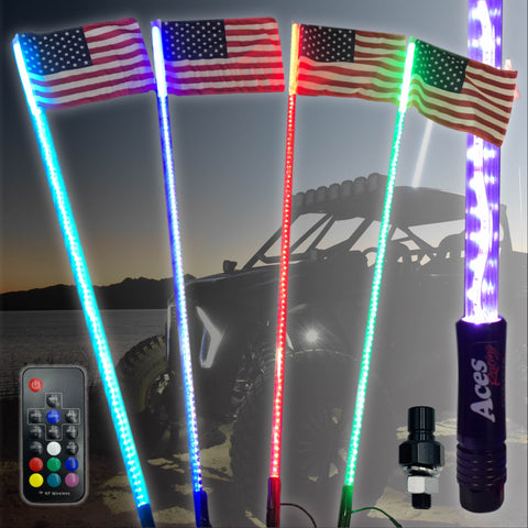 G2 20 Color 200 Combination LED Lighted Whip