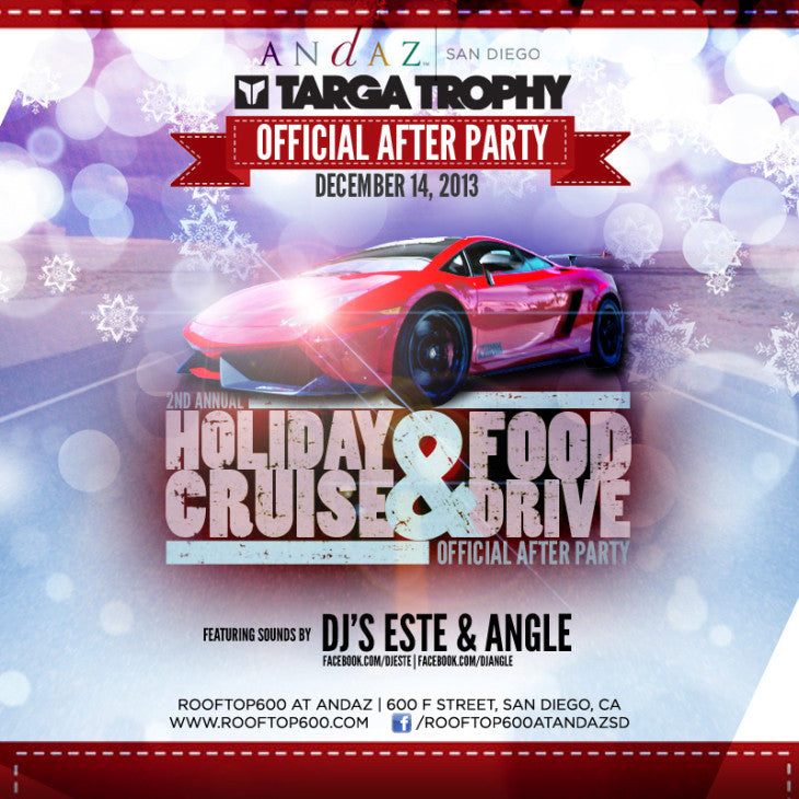 20131214 TK Productions Targa Andaz Afterparty SQUARE