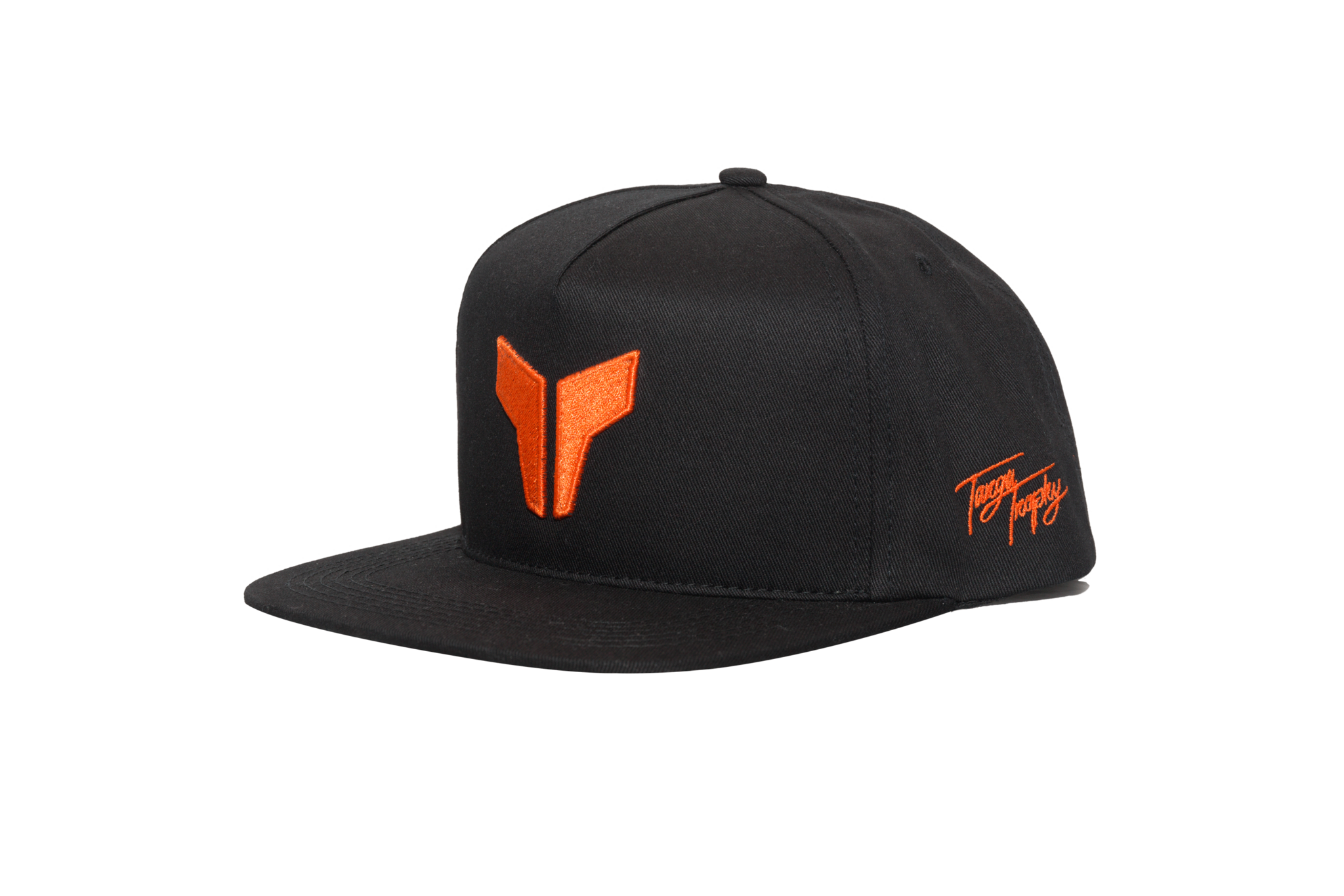 ICON HAT | BLACK/ORANGE