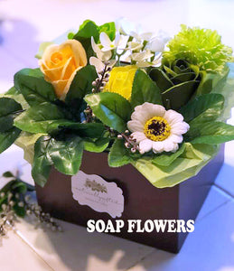 Soap Flower Gift Box - Naturally GiftedNY