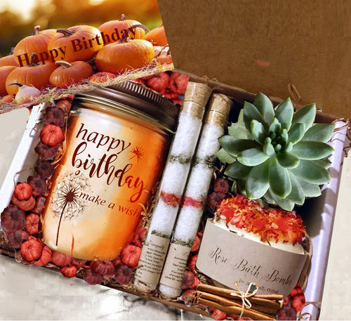 Custom Pumpkin Spa Gift - Naturally GiftedNY