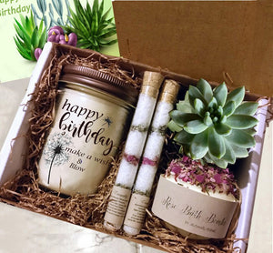 Unique Spa Best Friend Birthday Gift - Naturally GiftedNY