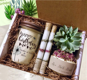 Pamper someone special  for a Best Friend Birthday, Friend Gift, Mom, Sister ,Coworker or a Get Well Gift | Best Friend Gift |Gift  Her - Naturally GiftedNY