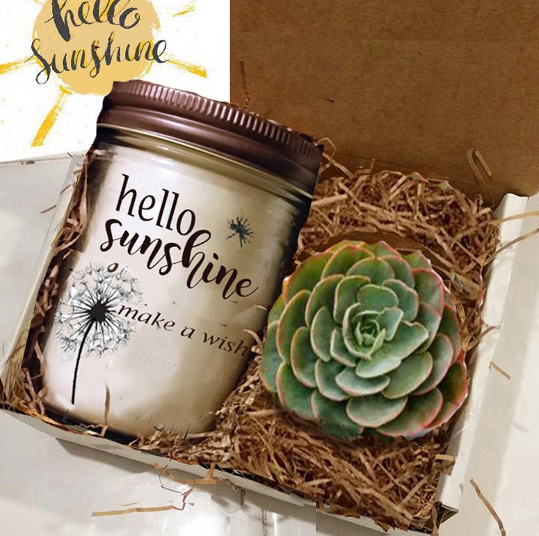 Box of Sunshine, Hello Sunshine,Thinking of You Gift | Thank You Gift | Friend Gift | Get Well Gift | Best Friend Gift |Gift For Her