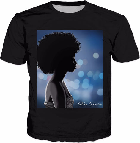 Afrodisiac Custom  Black T-Shirt