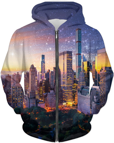 New York City Fantasy Sunset Hoody