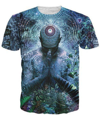 Gratitude for the Earth and Sky T-Shirt - by Cameron Gray