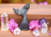 Black Tourmaline Orgonite Mermaid Tail
