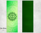 Fourth Green Anahata Heart Chakra Yoga Mat