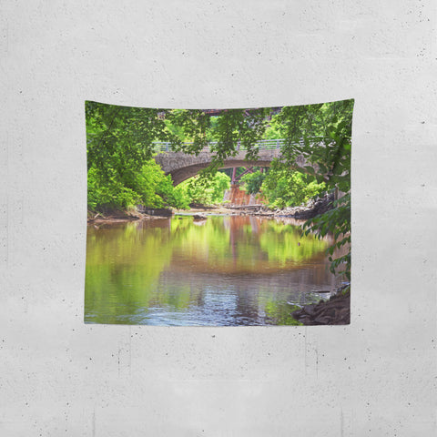 Upstate New York Catskill Creek Tapestry - Real Photography - 3 Sizes