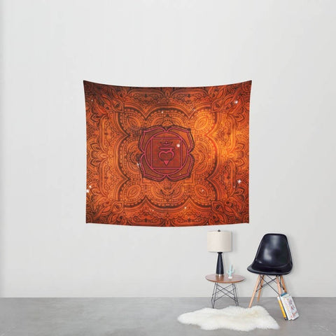Root Chakra Tapestry - 3 Sizes