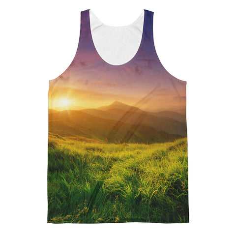 Mountain Sunrise Unisex Classic Fit Tank Top