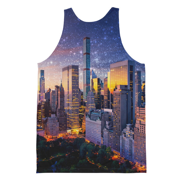 New York City Sunset Unisex Classic Fit Tank Top
