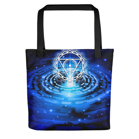 Throat Chakra Tote bag