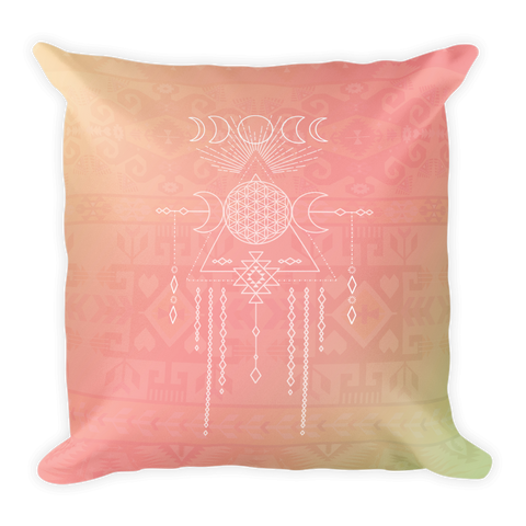 Tribal Moon Goddess Pillow