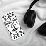 Hand Drawn African Mask iPhone Case
