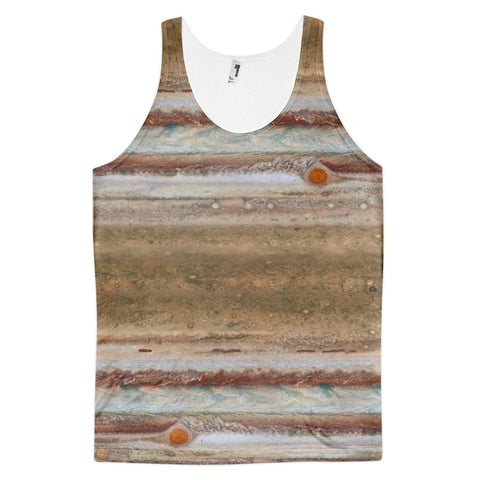 Jupiter Print Hipster Tank Top - Summer 2017 Buy t-shirts online by golden ascension studio